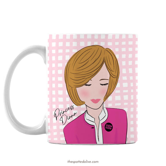 Coffee Mug - Princess Diana Skate Inspired