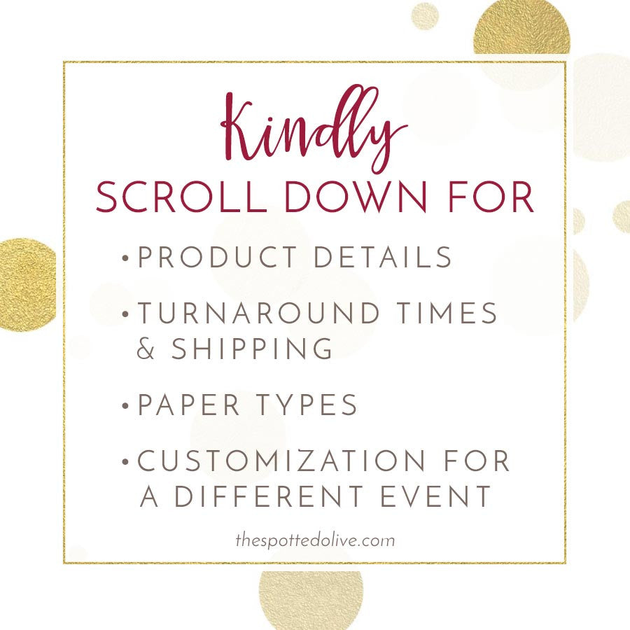 Baby Shower Invitations - Pink Stripes & Gold Confetti