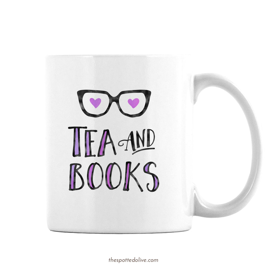 Coffee Mug - Tea And Books