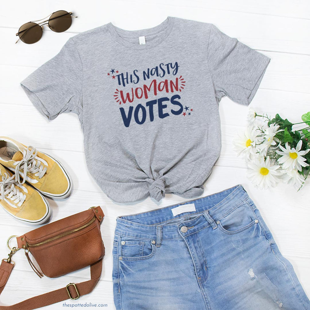 This Nasty Woman Votes T-Shirt
