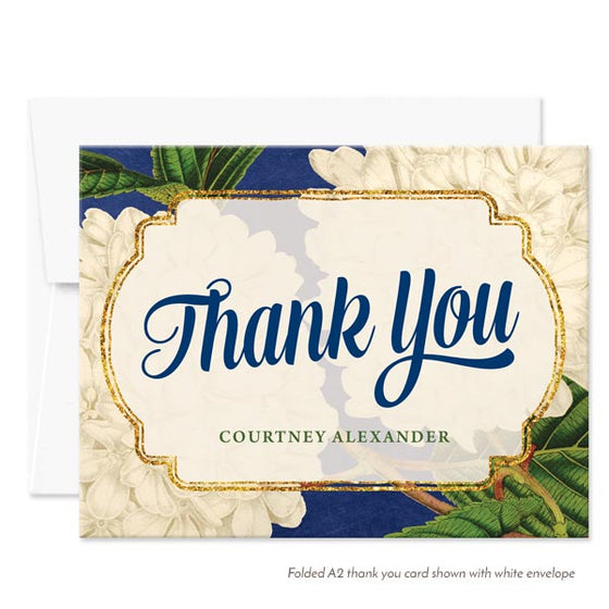 Thank You Cards - Vintage Hydrangeas