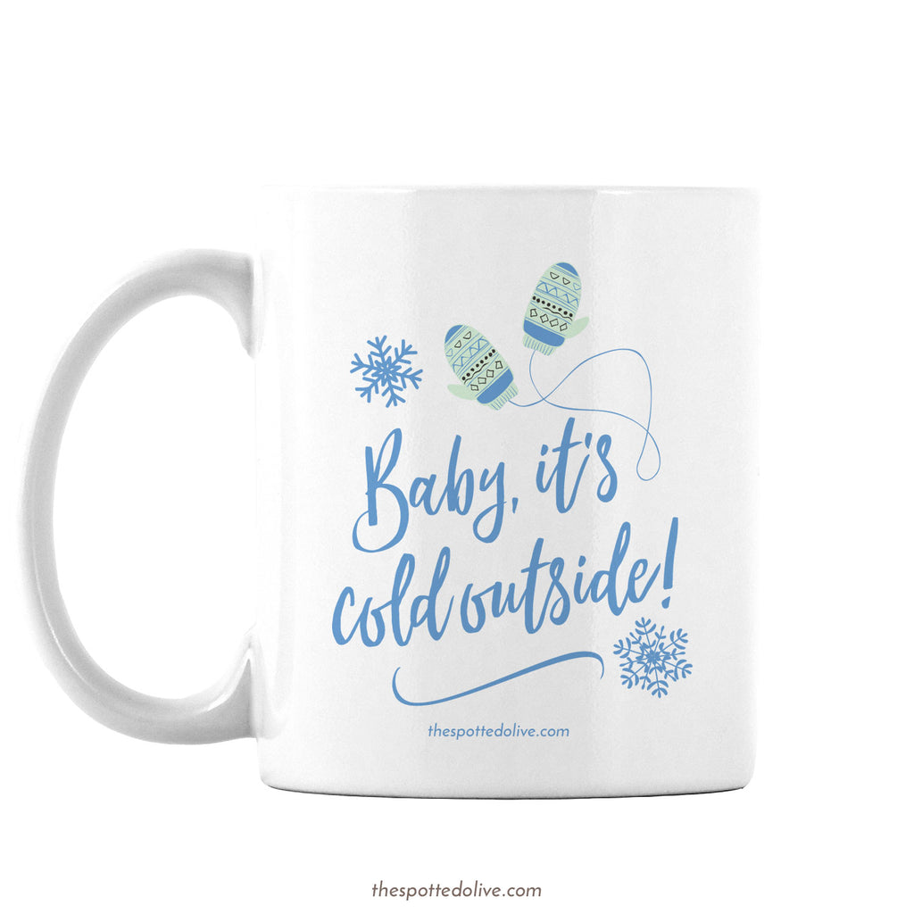 Coffee Mug - Winter Mittens