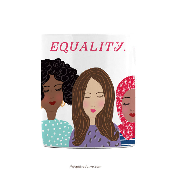 Women of the World Mug by The Spotted Olive -1