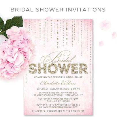 Shop Bridal Shower Invitations