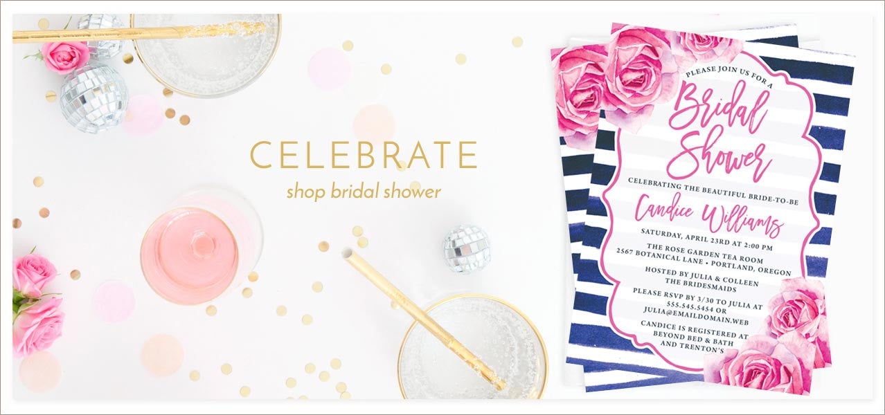 Shop Bridal Shower Invitations at The Spotted Olive