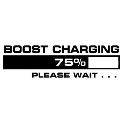 Boost Charging Please Wait...