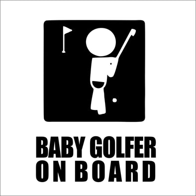 Baby Golfer on Board