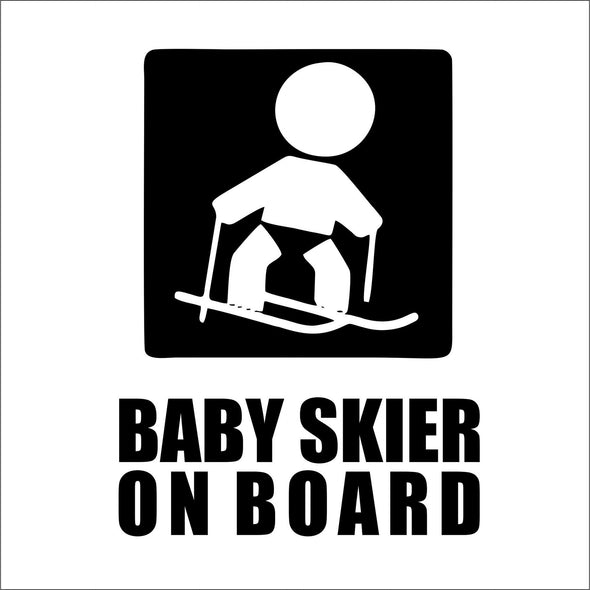Baby Skier on Board