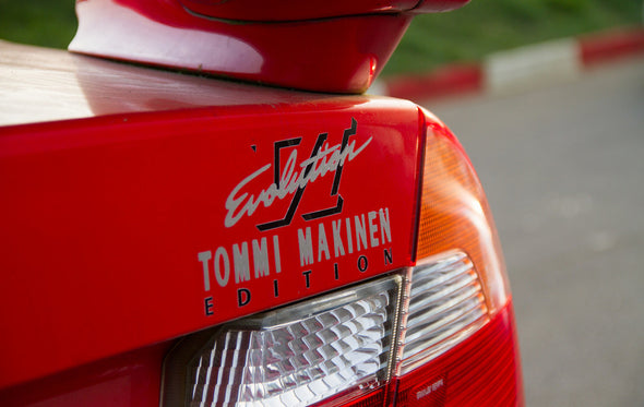 Mitsubishi Lancer EVO 6.5 Tommi Makinen Decal