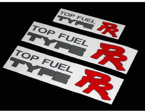 3 PCS Top Fuel Type RR