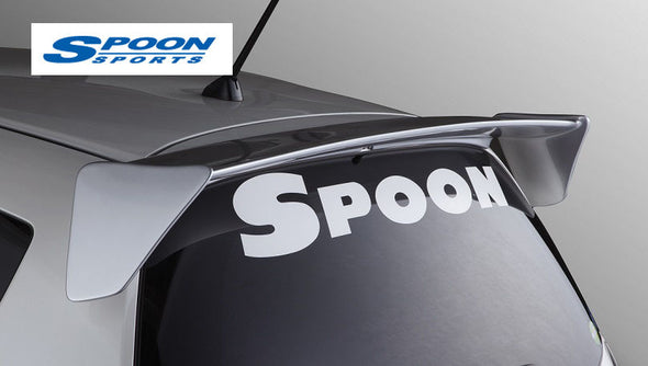 Spoon Rear Window Hatch Decal