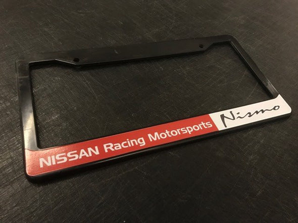 Nissan Racing Motorsports Nismo License Plate Frame