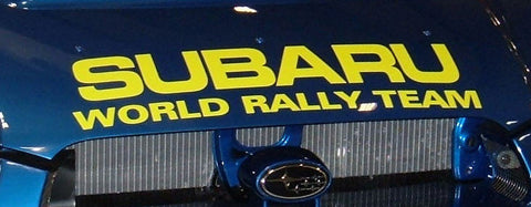 Subaru World Rally Team Decal