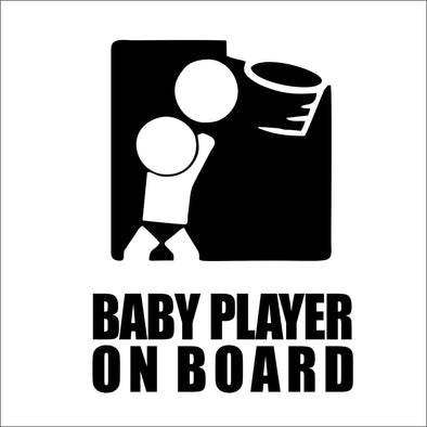 Baby Player on Board Bball