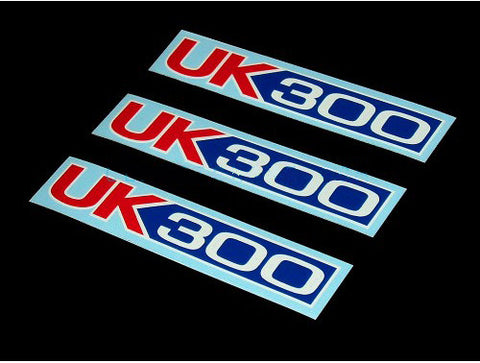 3PCS UK300 Decals