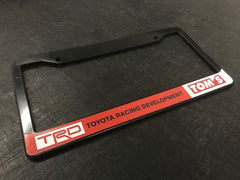 TRD Toyota Racing Devolpment Tom's License Plate Frame