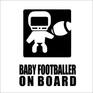 Baby Footballer on Board