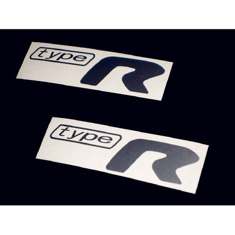 2 PCS Subaru Type R Decal