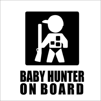 Baby Hunter on Board