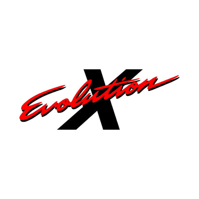 Evolution X 10 Rear Trunk Boot Decal