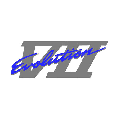 Evolution VII/7 Rear Trunk/Boot Decal