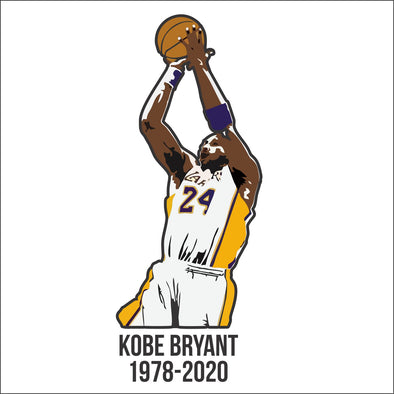 Kobe Bryant 1978-2020 R.I.P Decal
