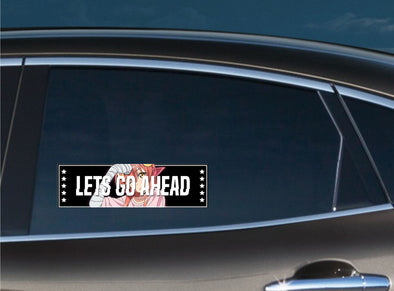 Lets Go Ahead Slap Decal