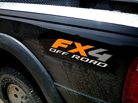 2PCS FX4 Off Road Side Decals