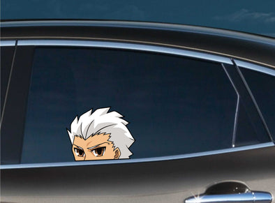 Archer Peeking