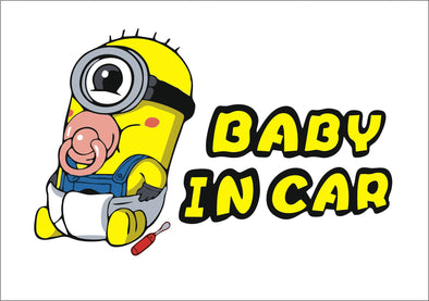Baby On Board Minion