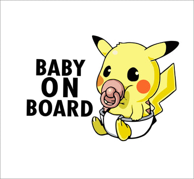 Baby on Board - Baby Pikachu