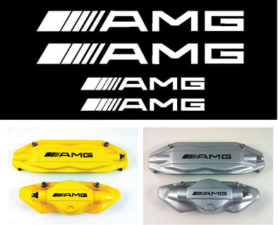 AMG Caliper Brake Decals 4 PCS