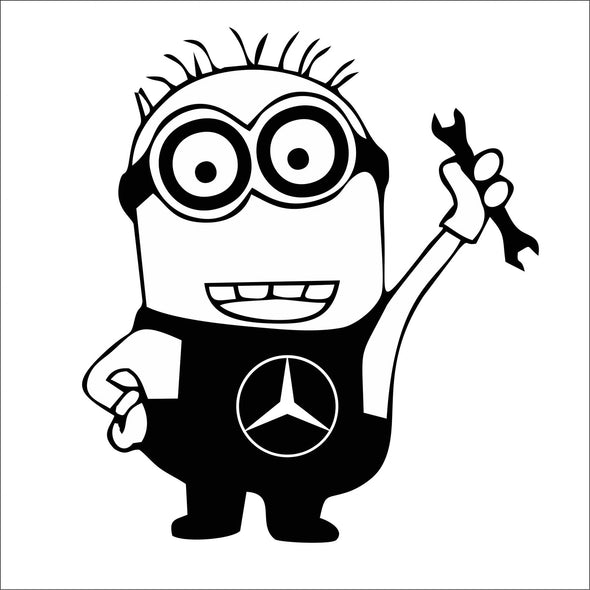 Minion Mechanic Mercedes Benz