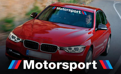 BMW Motorsports Windshield Decal