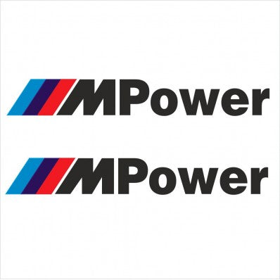 BMW M Power Decals