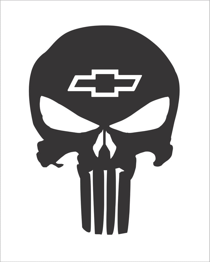 Skull Punisher Chevrolet Bomex Graphics
