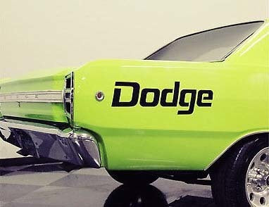 Dodge Mopar Logo Body Decal