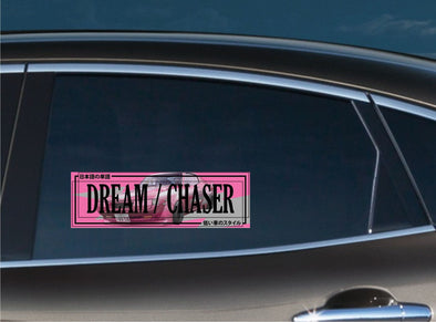 Dream Chaser Pink Kaido Style Slap Decal