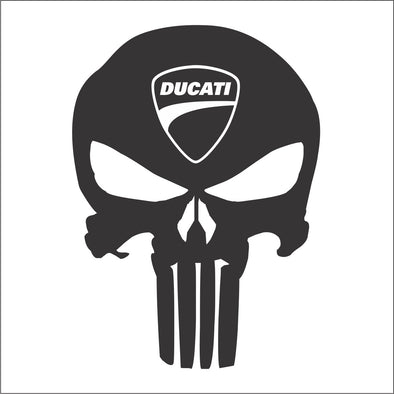 Skull Punisher Ducati