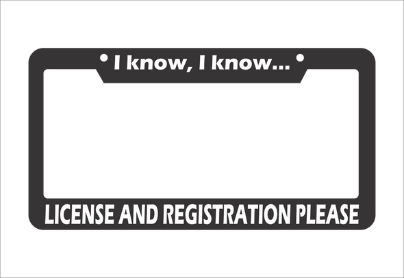 License and Registration