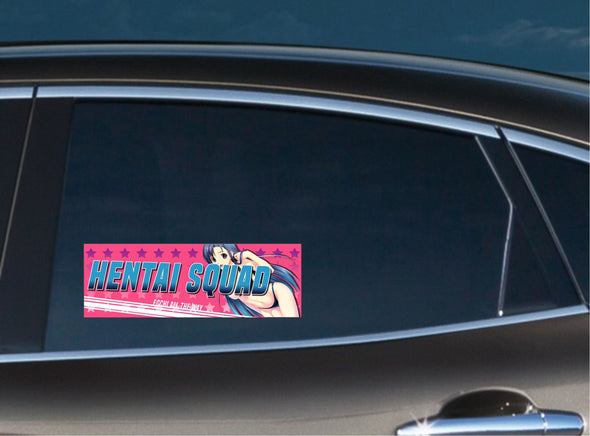 Hentai Squad #3 Slap Decal