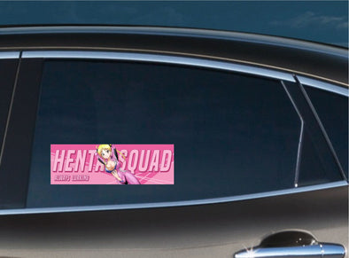 Hentai Squad #4 Always Lurking Slap Decal