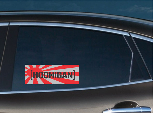 Hoonigan Rising Sun Slap Decal