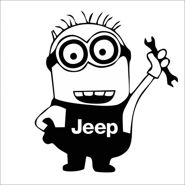 Minion Mechanic Jeep