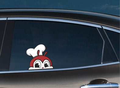 Jollibee Cute Peeking
