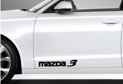 Mazda 3 Logo Decals 2 PCS