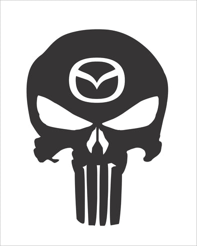 Skull Punisher Mazda
