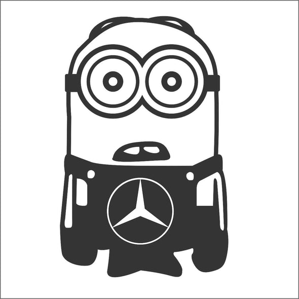 Minion Mercedes Benz