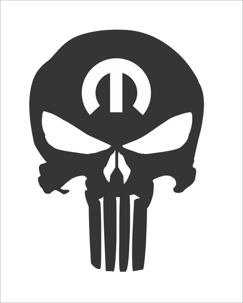 Skull Punisher Mopar Bomex Graphics