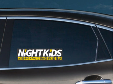 Night Kids Slap Decal